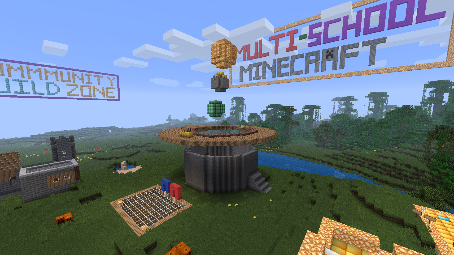 school minecraft server