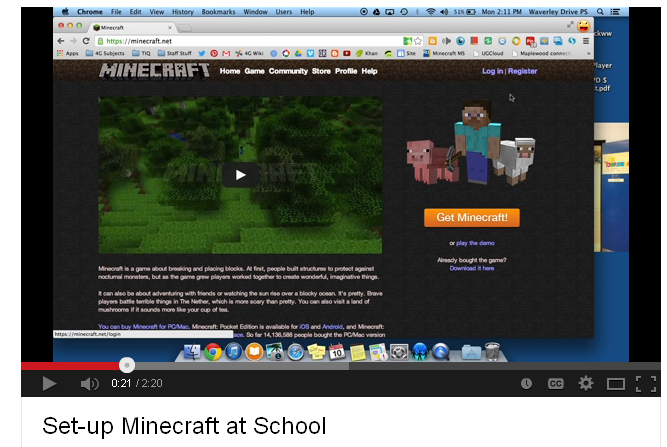 Minecraft Guides for Educators